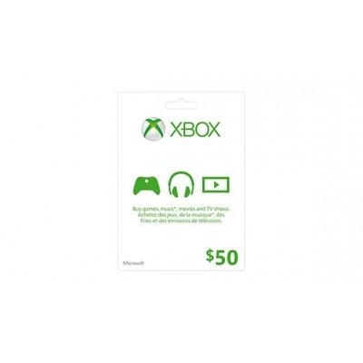 Xbox Live Card $50 - US store ( Electronic Delivery)