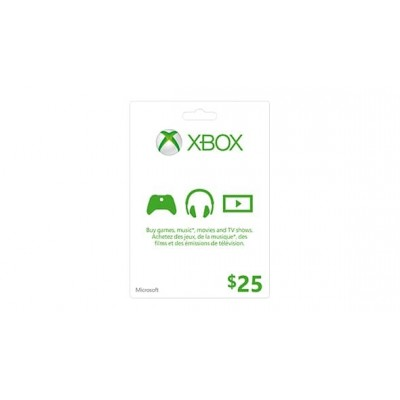 Xbox Live Card 25$ - US Store ( Electronic Delivery )