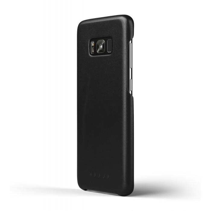 غلاف جلدي لسامسونج جالكسي +S8 أسود