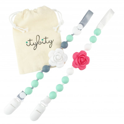 The Original Flower Pacifier Clip Set - Itybity