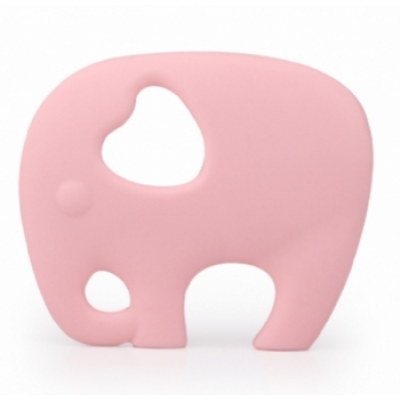 Pink Elephant Teether	 - Itybity
