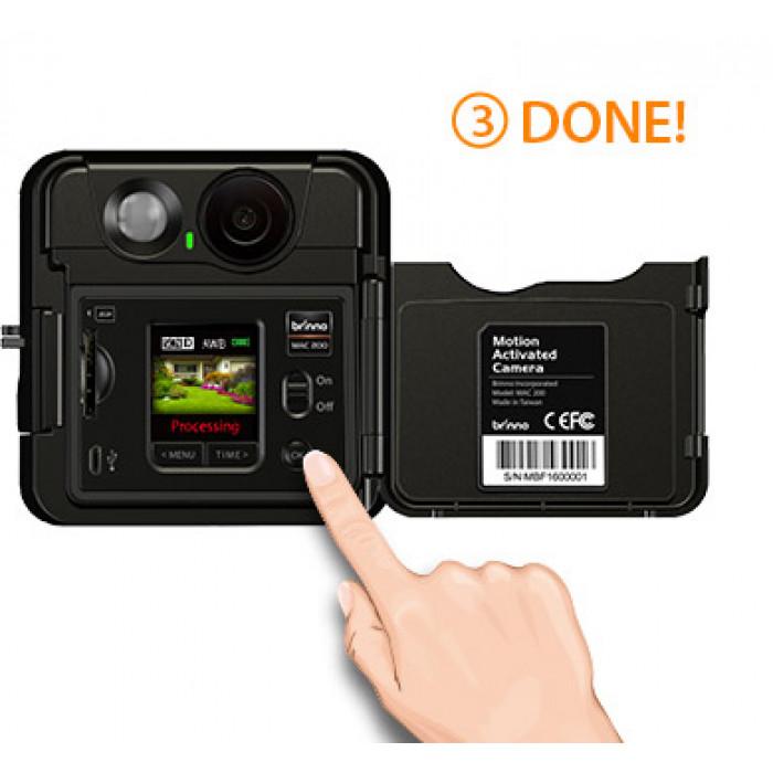 كاميرا تعمل بحساس الحركة Brinno MAC200  DN