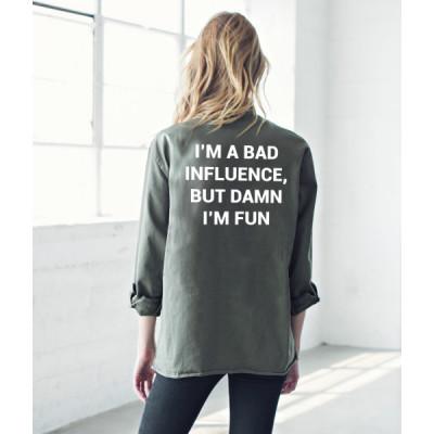 من جاك فانك Bad Influence Army Jacket