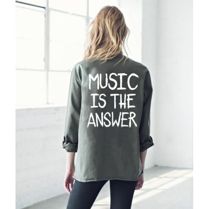 من جاك فانك  Music Is The Answer Army Jacket