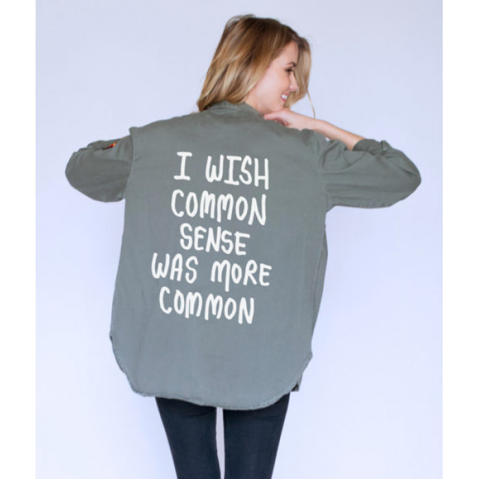 من جاك فانك  Common Sense Army Jacket