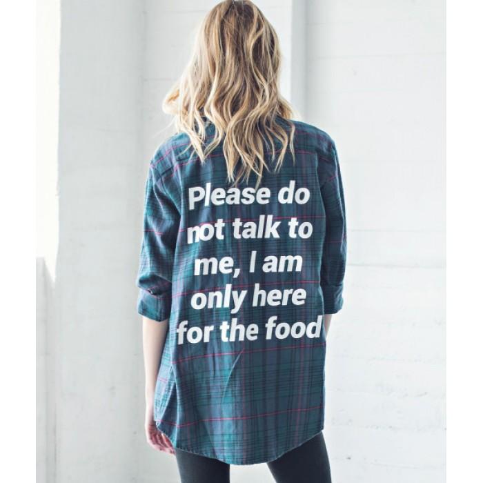 من جاك فانك  Do Not Talk Flannel Shirt