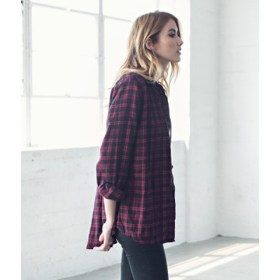 من جاك فانك  I Hate Everyone Flannel Shirt