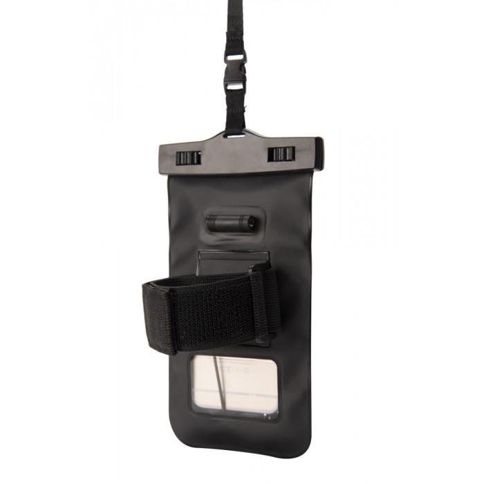 غلاف بحزام للذراع واقي من الماء للهواتف الذكية