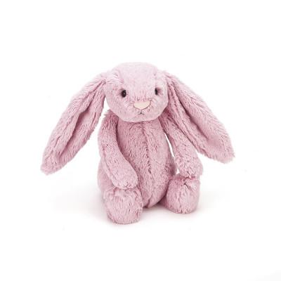 دمية أرنب وردي متوسط الحجم - وردي