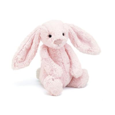 دمية أرنب زهري متوسط الحجم - زهري
