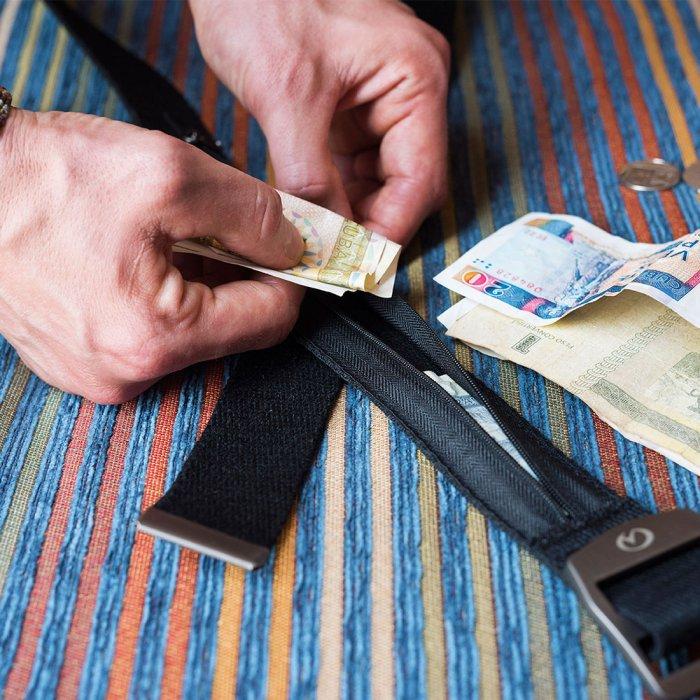 حزام لحفظ الاموال النقديه