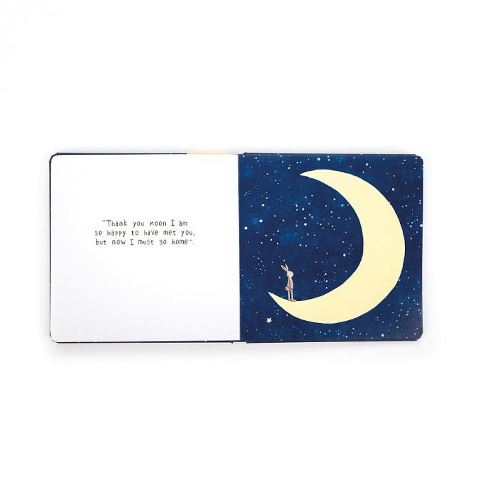 كتاب رحلة الأرنب الصغير الى القمر