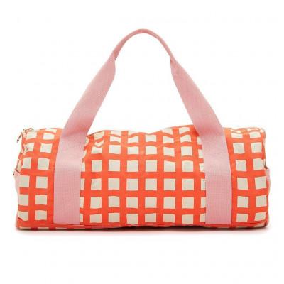 حقيبة رياضية للجيم من بان.دو - تصميم شبكي