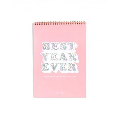 """تقويم حائط لعام 2018 من بان.دو - """"BEST YEAR EVER"""""""