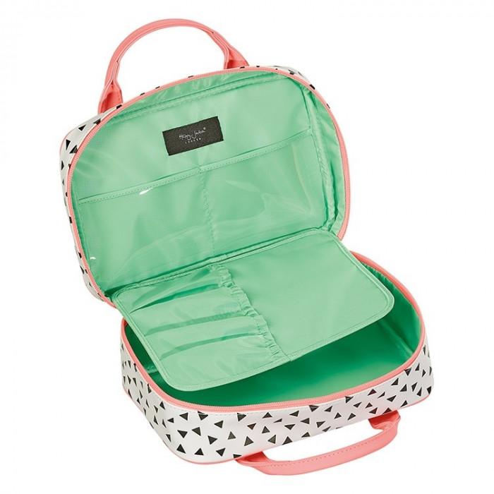حقيبة تنظيم أدوات التجميل للسفر من هابي جاكسون