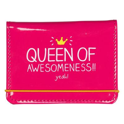 """حامل بطاقات من هاپي چاكسون - """"Queen of Awesomeness"""""""