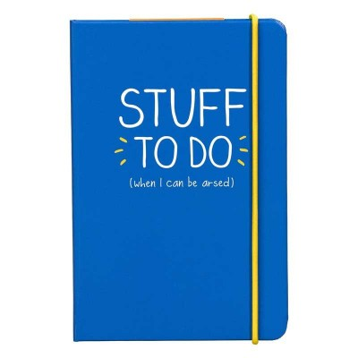 "دفتر A6 من هاپي چاكسون - ""Stuff To Do"""
