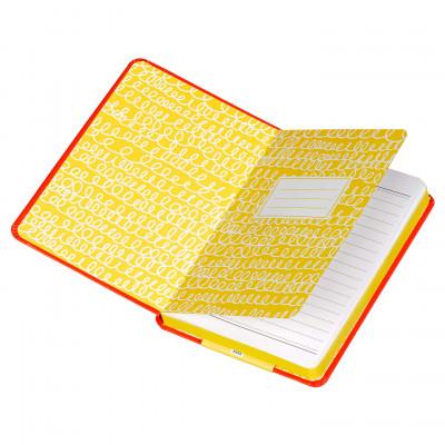 "دفتر A6 من هاپي چاكسون - ""I'm So Brilliant"" - أحمر"