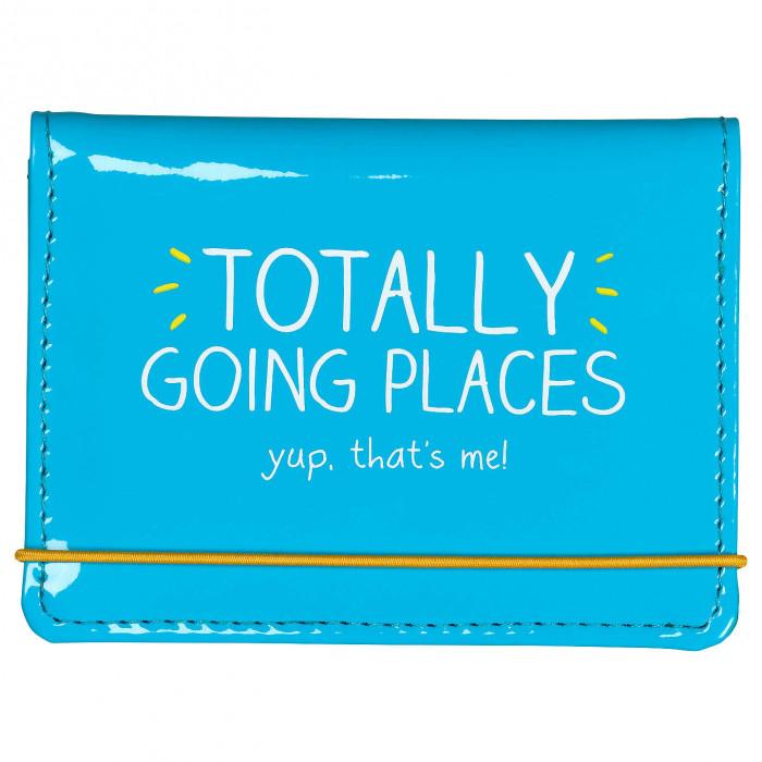 """حامل بطاقات من هاپي چاكسون - """"Totally Going Places"""""""