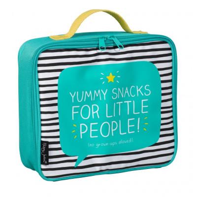"""حقيبة طعام لأطفال المدارس من هاپي چاكسون - """"Yummy Snacks"""""""