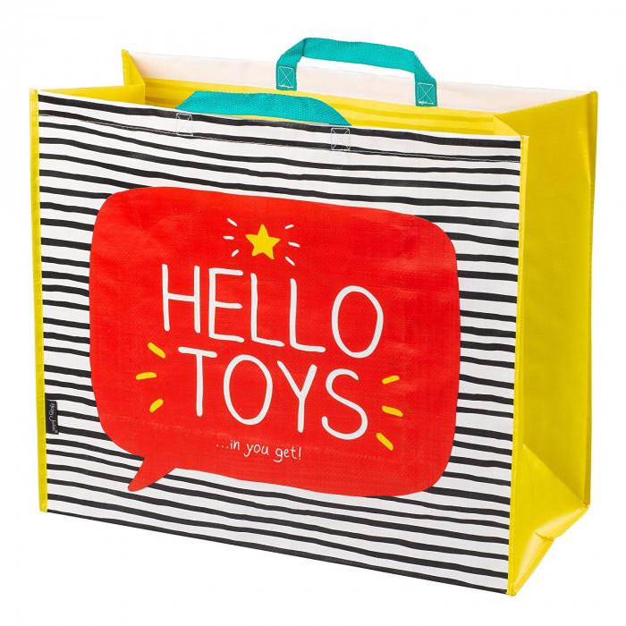 """حقيبة لتخزين ألعاب الأطفال من هاپي چاكسون - """"Hello Toys"""""""