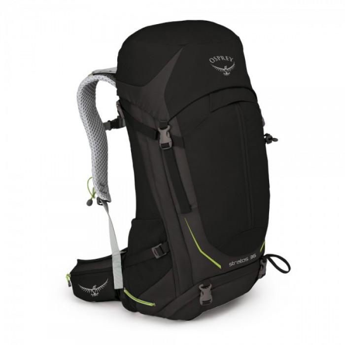 حقيبة الظهر ستراتوس 36 من أوسبري – اللون الأسود (صغير/ متوسط – متوسط/ كبير)