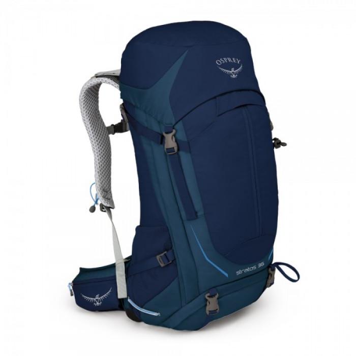 حقيبة الظهر ستراتوس 36 من أوسبري – اللون الأزرق (صغير/ متوسط – متوسط/ كبير)