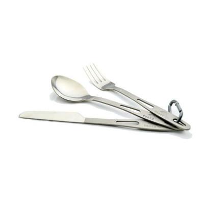 مجموعة أدوات المائدة - 3 قطع من التيتانيوم من توكس