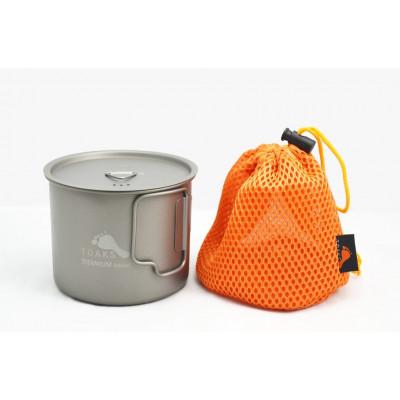 وعاء بسعة 550 ملل من التيتانيوم (الإصدار الجديد) من توكس