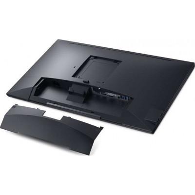 شاشة تعمل باللمس مزودة بحامل وشاشة تعمل باللمس مضادة للتوهج ذات رؤية واضحة – 23.8 إنش - من  ديل