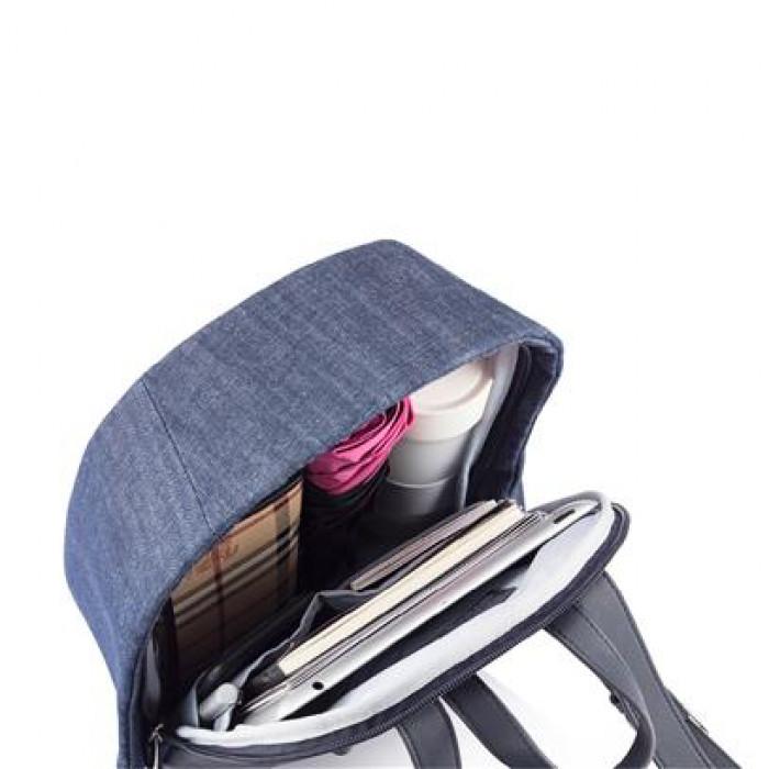 حقيبة الظهر Bobby Elle المقاومة للسرقة  - جينز ازرق
