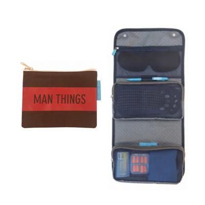 احتياجات السفرحقيبة ايرو + حقيبة مستلزمات الرجال من Flight 001