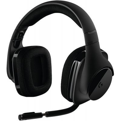 سماعة الرأس اللاسلكية G533 Wireless 7.1 Surround للألعاب من لوجيتيك
