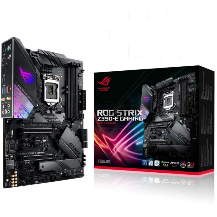 ASUS ROG STRIX Z390-E GAMING لوحة الأم