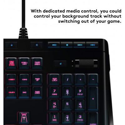 لوحة مفاتيح الألعاب G910 Orion Spectrum RGB الميكانيكية من لوجيتك