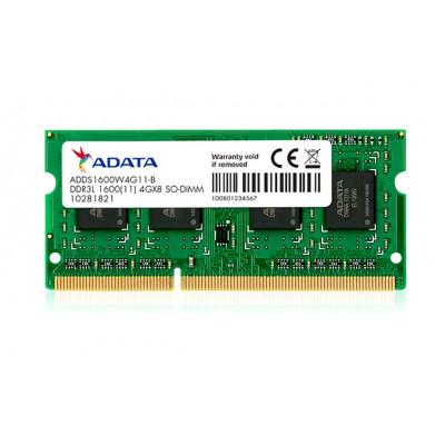 وحدة ذاكرة 1600 ميجاهيرتز DDR3L من أداتا - 4 جيجا