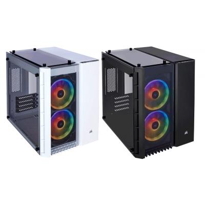 كيس  Crystal 280X RGB Micro-ATX  أبيض / أسود | كورسير