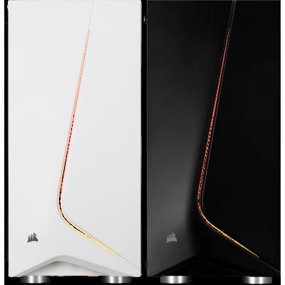 صندوق الكمبيوتر Carbide SPEC-06 RGB TG أبيض أو أسود من كورسير