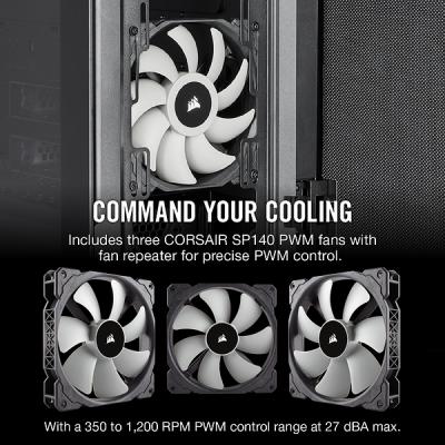 كيس  Carbide Series 678C ATX  أسود | كورسير