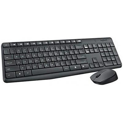 لوحة مفاتيح وفأرة لاسلكيان للمكتب MK235 Ara من لوجيتيك