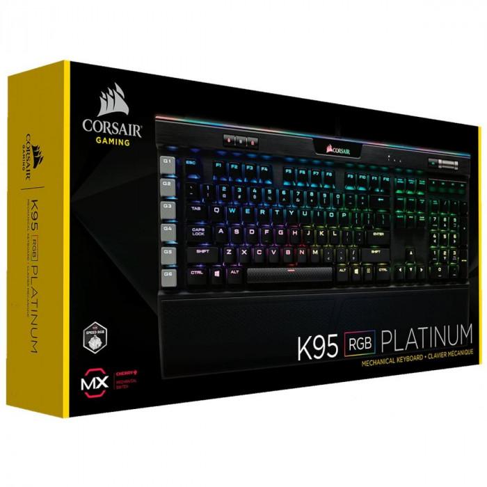 لوحة المفاتيح K95 RGB بلاتينيوم CHERRY MX  بلاتينيوم | كورسير