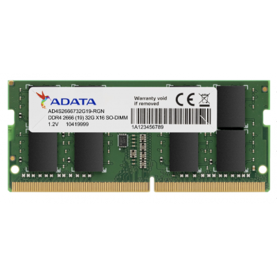 ADATA -  DDR4 2666MHz 8GB Laptop Memory RAM