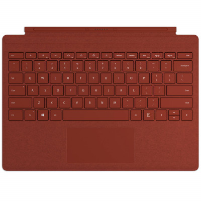 Surface Pro Signature Type Cover with Alcantara Fabric - Poppy Red