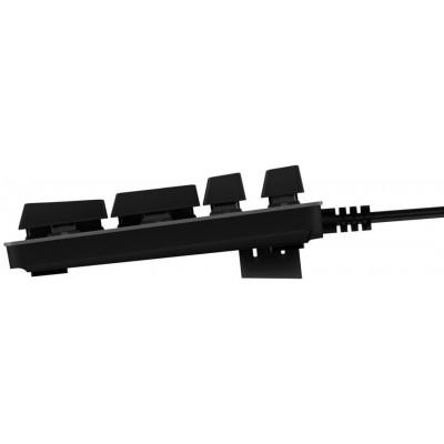لوحة مفاتيح الألعاب الميكانيكية لوجيتك جي 413 مع إضاءة خلفية - أسود