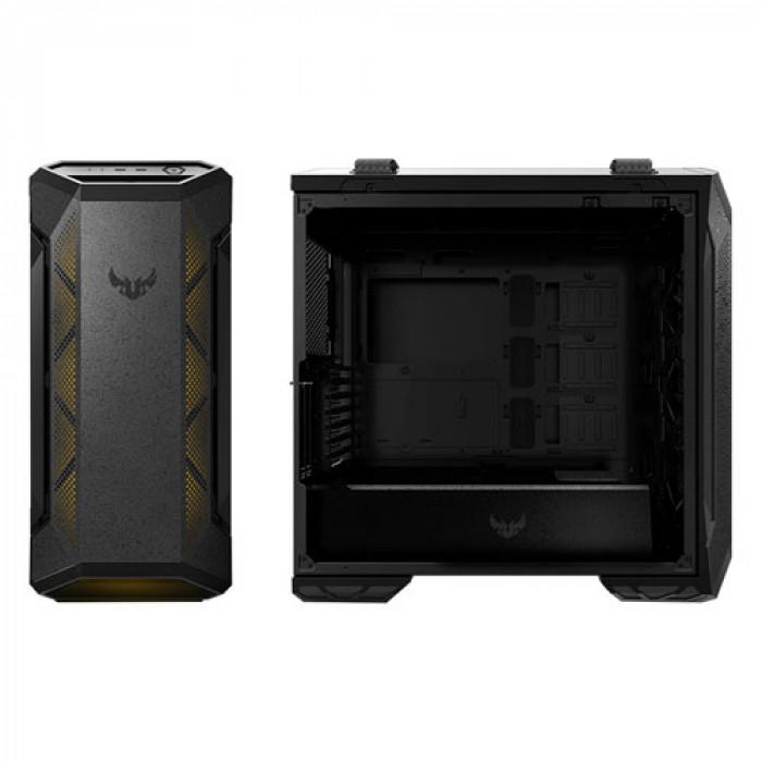 صندوق كمبيوتر TUF GAMING GT501 للألعاب من أسوس - أسود