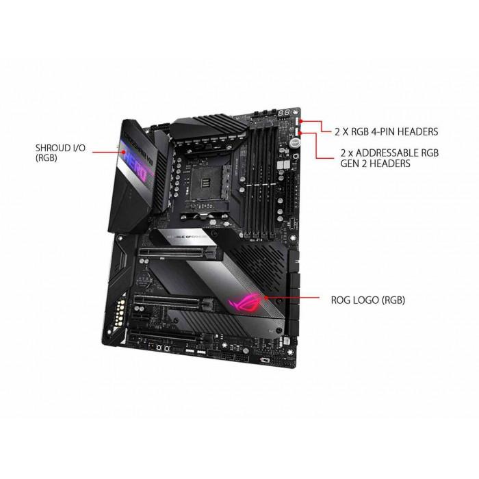 Asus ROG Crosshair X570 VIII Hero (WIFI) اللوحة الأم