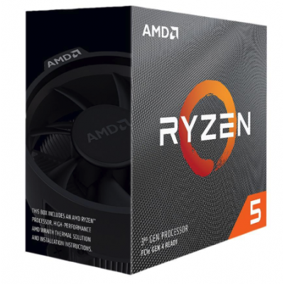AMD RYZEN 5 3600 | 4.2 GHz Max Boost, 3.6 GHz Base معالج