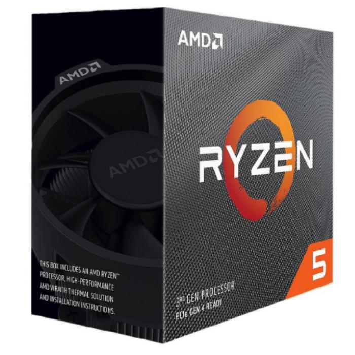 AMD RYZEN 5 3600 | 4.2 GHz Max Boost, 3.6 GHz Base معالج