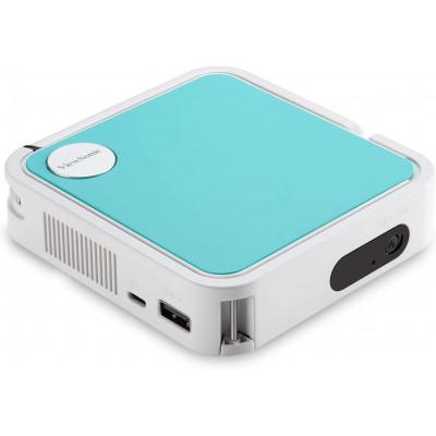 Home Theater 1 |  ViewSonic M1 Mini projector + Free Apai Genie Robot-Cameraman