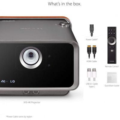 جهاز عرض من فيوسونيك  4K UHD Short Throw Portable Smart LED